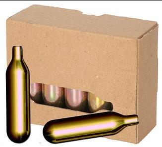 50 St ilggro Bierkapseln für alle Bierzapfanlagen mit 16 g CO2 Biermaxx Zapfprofi