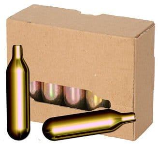 60 Stück 16 g CO2 Mosa Bierkapseln für Zapfanlagen z.B. Bier Maxx Zapfprofi - 1