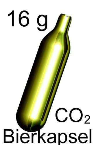 60 Stück 16 g CO2 Mosa Bierkapseln für Zapfanlagen z.B. Bier Maxx Zapfprofi