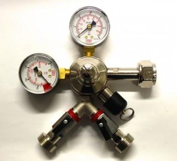 Druckminderer 2-leitig CO2