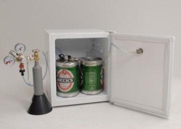 Faßbierkühlschrank A+ für 2 x 5 Liter Dosen