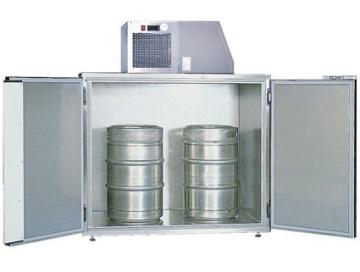 Fassvorkühler für 2 KEG-Fässer aus Edelstahl