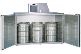 Fassvorkühler für 6 KEG-Fässer aus Edelstahl - 1