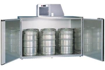 Fassvorkühler verzinktes Stahlblech für 6 KEG Fässer - 1