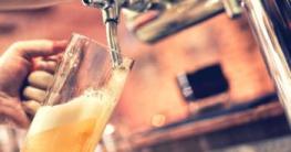 Perfekt gezapftes Bier