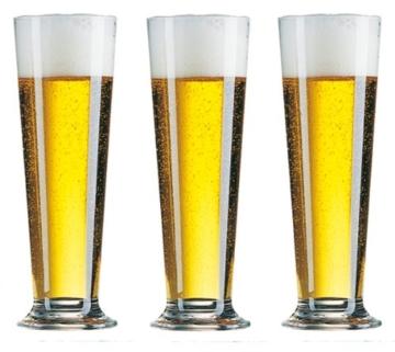 Arcoroc 6 Biergläser Linz Altbiertulpen 0,5 Liter