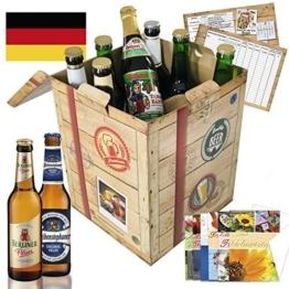 Bierspezialitäten Deutschland Geschenkbox