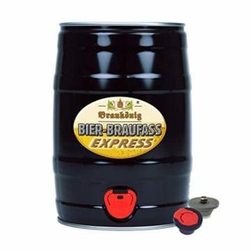 BRAUKÖNIG ® Braufass Express - Black Edition - 5