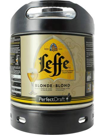 Leffe Blond 6l Perfect Draft Fass